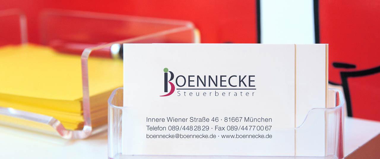 Kassenbuch Sigrun Boennecke Steuerberater